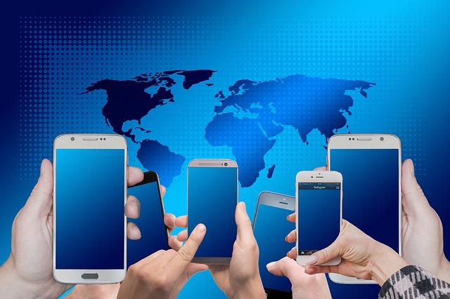 telefony ve světě