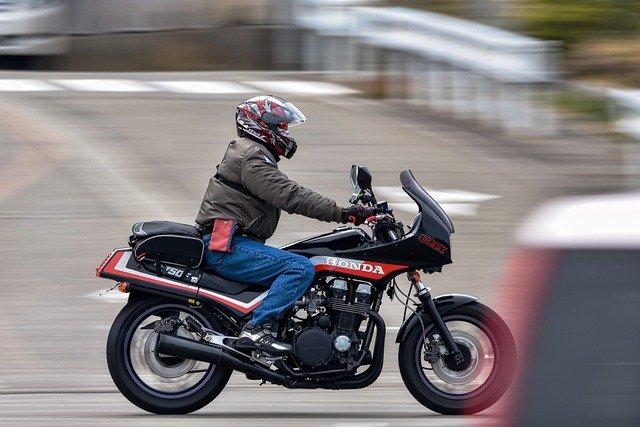 Jazdec na motorke, Honda
